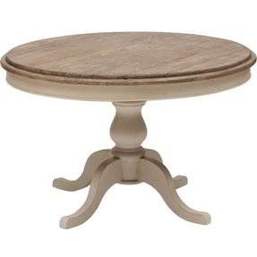 Round White Pedestal Dining Table Foter - White pedestal table with leaf
