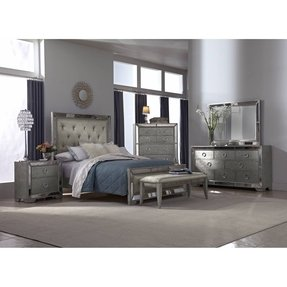 Silver bedroom furniture sets