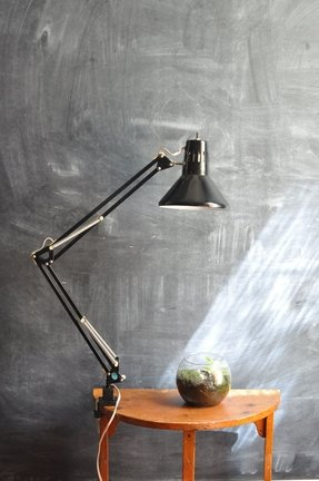 Swing Arm Drafting Lamp Foter