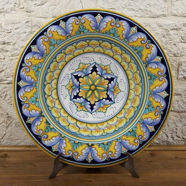 Vases decorative plates wall decor mediterranean decorative plates & Extra Large Decorative Plates - Foter