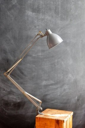 Vintage 1960s Luxo Industrial Task Light