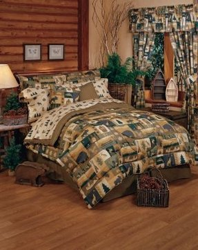 Wildlife comforter sets
