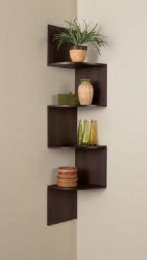 Zig Zag Corner Wall Shelf Foter