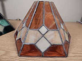 Slag Glass Lamp Shade Ideas On Foter