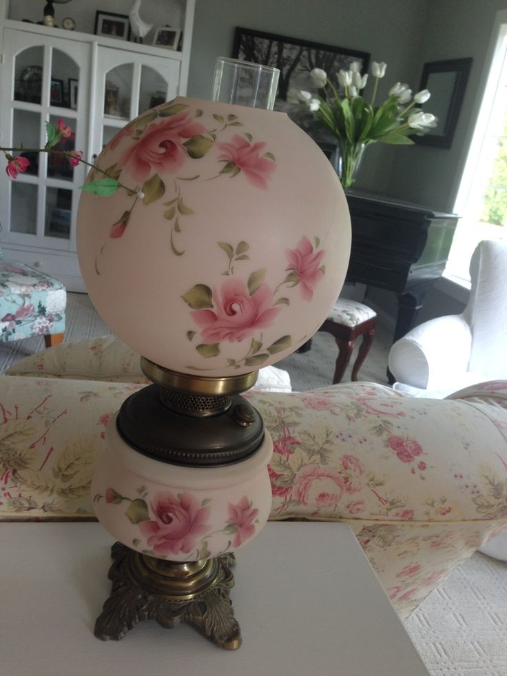Old fashioned globe lamps 93