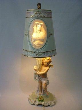 Porcelain Figurine Lamp Ideas On Foter