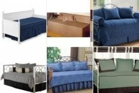 Denim daybed cover