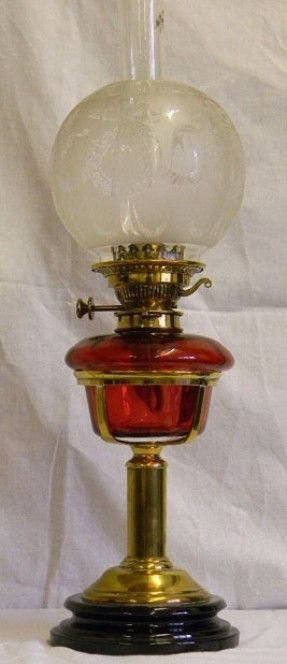 Cranberry Glass Lamps Foter