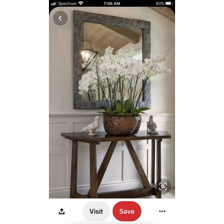 Entryway Table And Mirror Sets - Foter