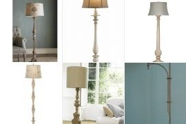 French country floor lamp foter aloadofball Gallery