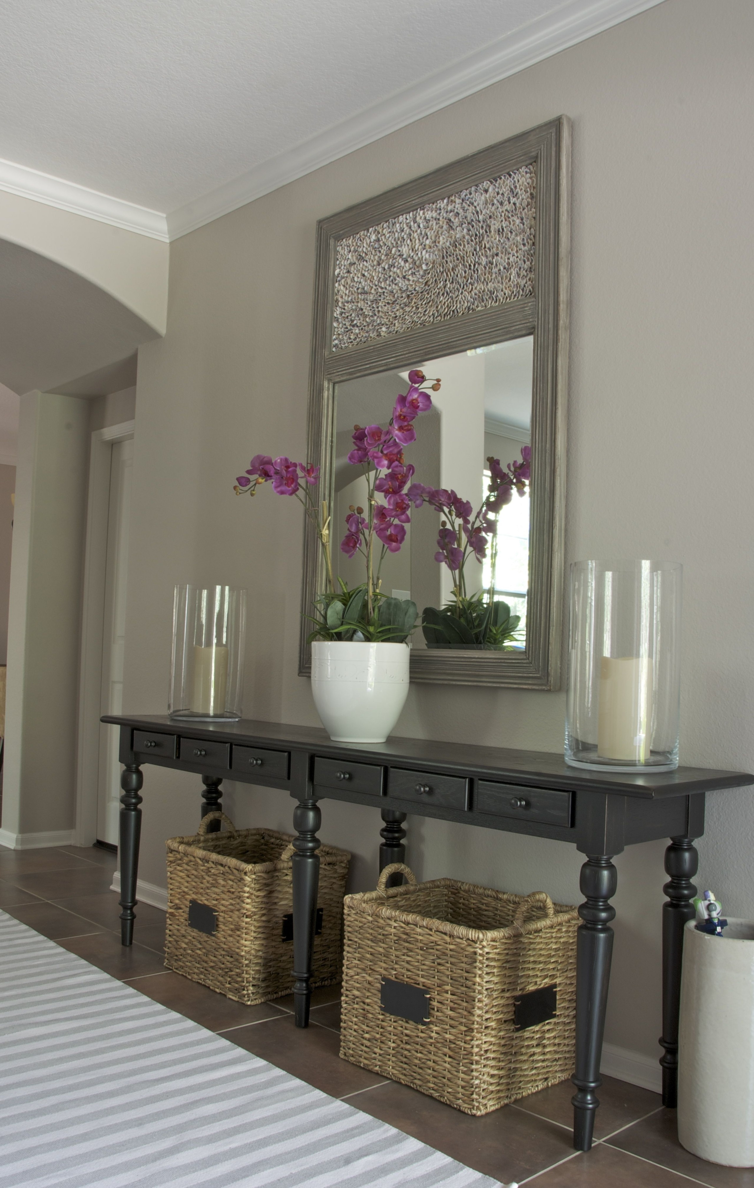 Hallway Table And Mirror Sets