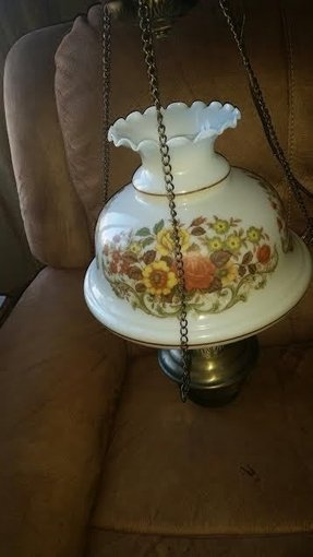 Hanging hurricane lamp 40