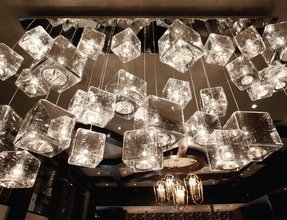 Ice cube pendant lamp 12