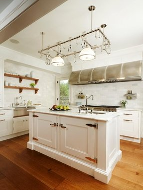Kitchen Island With Pot Rack Ideas On Foter