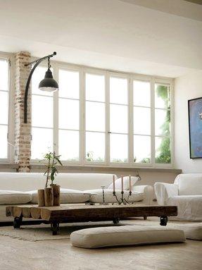 Wood Base Floor Lamp Foter