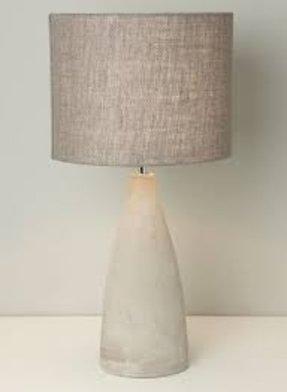Large drum lamp shade foter linen tapered drum lamp shade aloadofball Choice Image