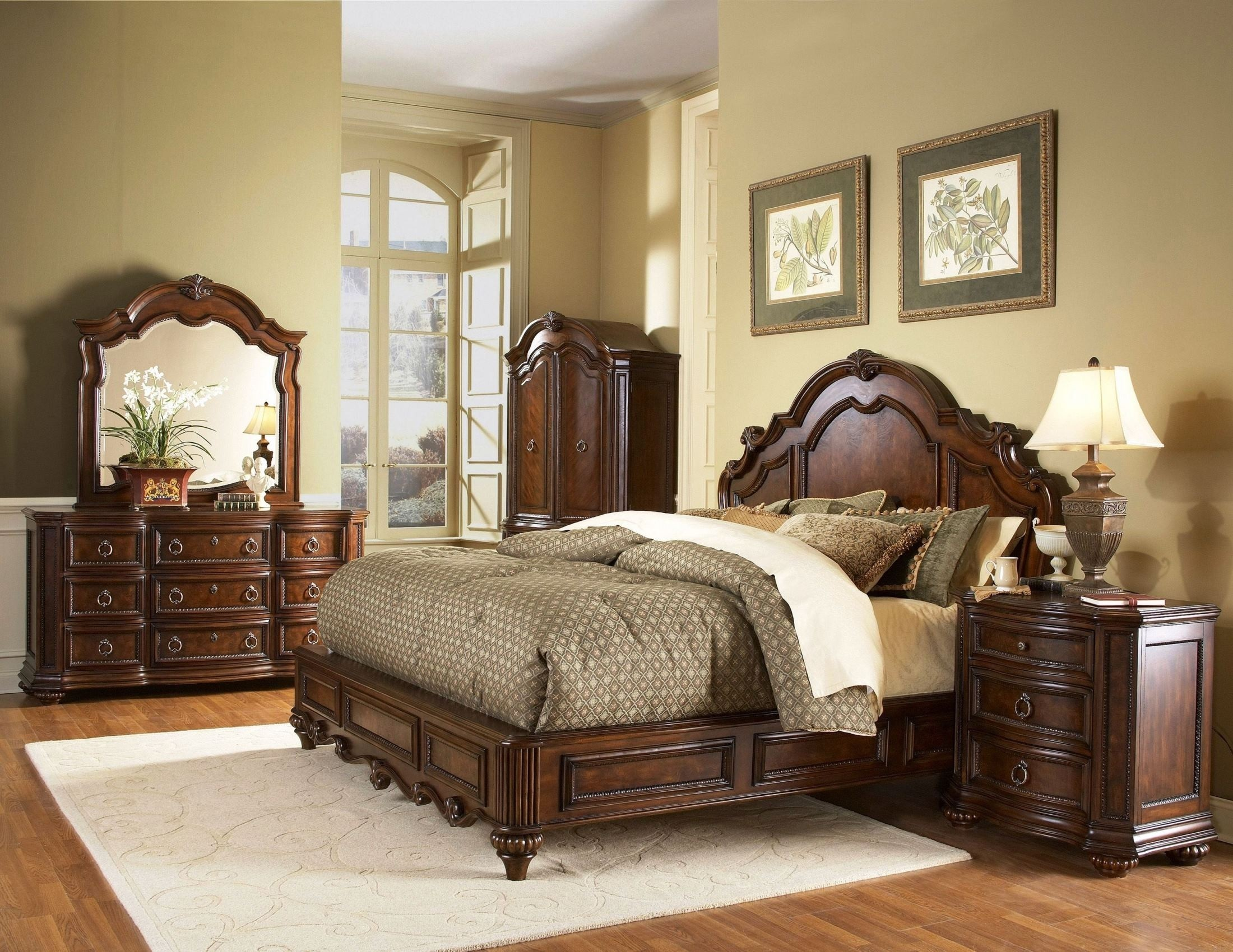 Perfect Mahogany Bedroom Furniture Sets