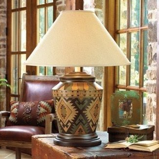 Native american table lamps 28