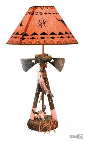 Native american table lamps foter native american table lamps 3 aloadofball Image collections