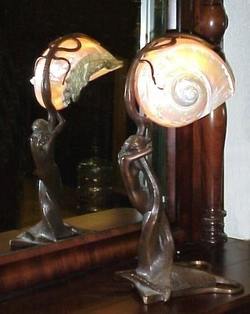 Nautilus Shell Table Lamp 4