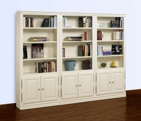 Oak Bookcases With Doors 13