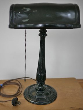 Antique Bankers Lamp Foter
