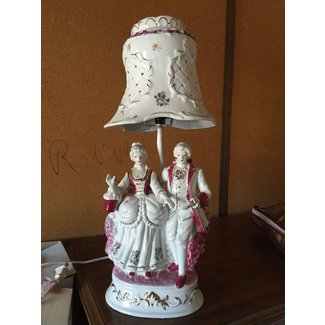 Porcelain Figurine Lamp Ideas On Foter
