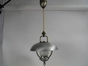 Retractable ceiling light