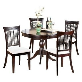 Round cherry dining table 1