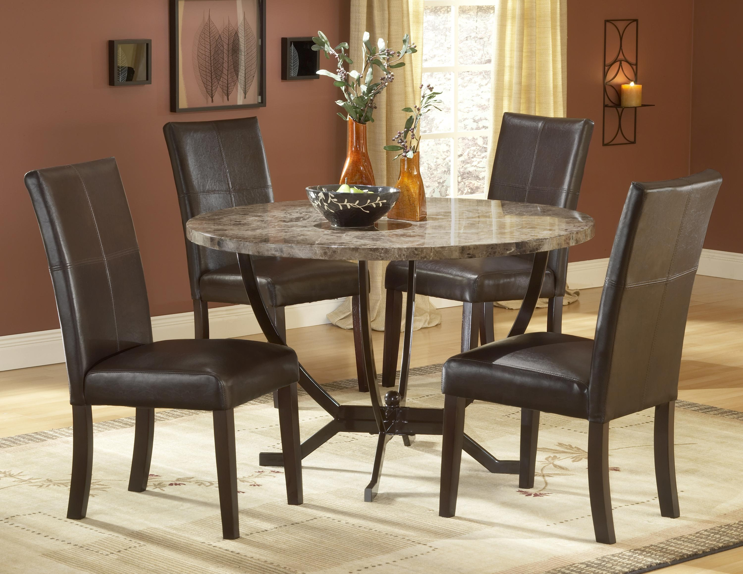 Beau Round Marble Dining Table 9