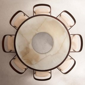 Round Marble Dining Table Foter
