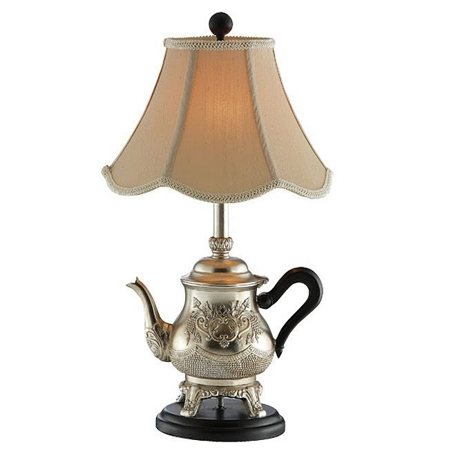 The Golden Teapot Table Lamp Add A Cute Touch To