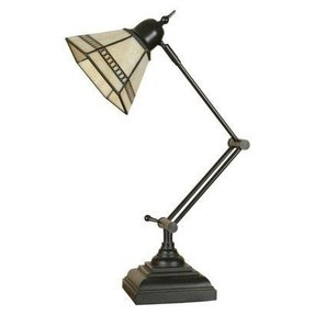 bankers shade dp dragonfly lamp design style table tiffany quot light desk