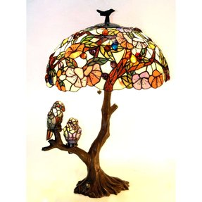 Tiffany style tree lamp 3
