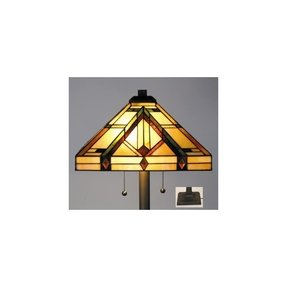 Tiffany style tree lamp 30