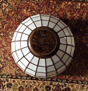 Slag Glass Lamp Shade Ideas On Foter