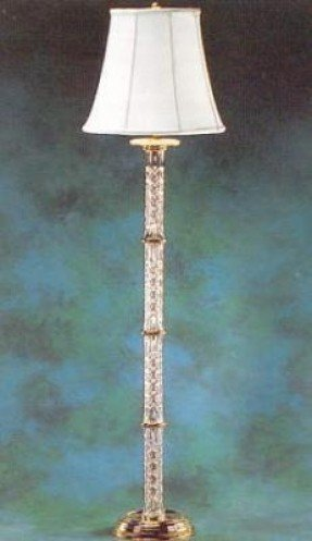 Waterford crystal crystal floor lamp 1