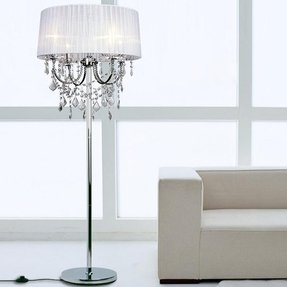 Waterford crystal crystal floor lamp 2