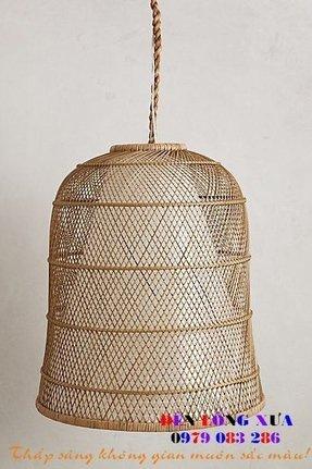 Bamboo pendant lamp foter wicker lamp shades ikea aloadofball Choice Image