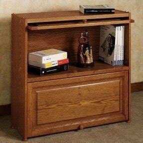 Wooden bookcases with doors 8