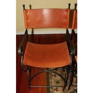 Wrought iron kitchen bar stools 8