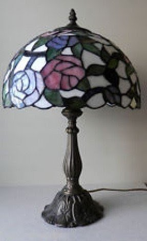 Antique tiffany lamp 3