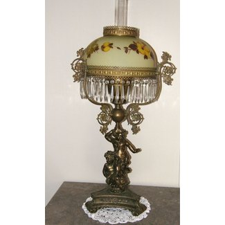 Antique Cherub Lamp For 2020 Ideas On Foter