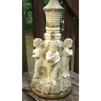 Antique Cherub Lamp Foter