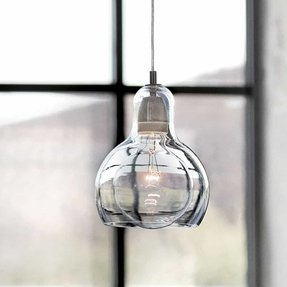 Clear glass shade 3