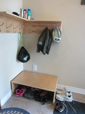 Coat Hook Shelf Foter