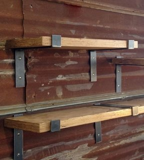 Decorative wood wall shelves 14