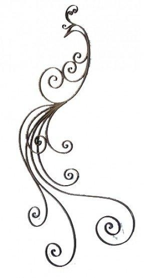 Decorative Wrought Iron Wall Hangings