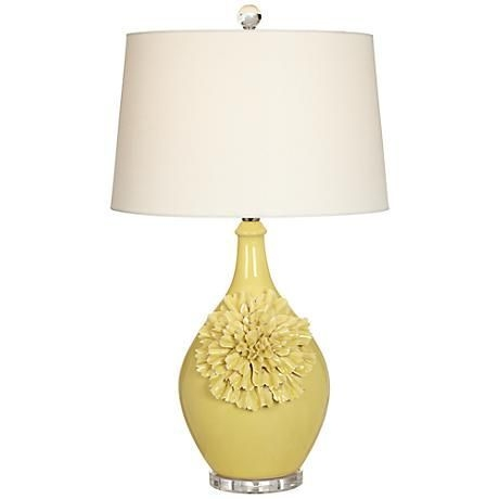 Floral Ceramic Table Lamp 4