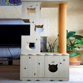 Furniture Litter Boxes For Cats Ideas On Foter